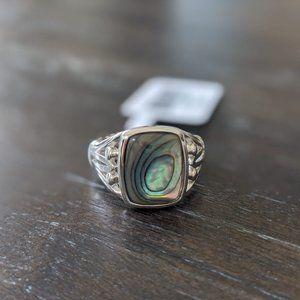 JTV Abalone Shell Ring